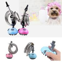 Pet Shower Head Brush Dogs Cats Cusual Massager Comb Cleaner Grooming, Cleaning Pet All Seasons Supplies 1.2M