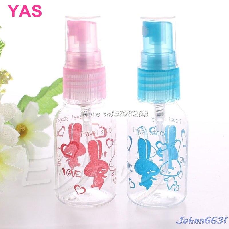 10Pcs 30ML Empty Plastic Transparent Perfumes
