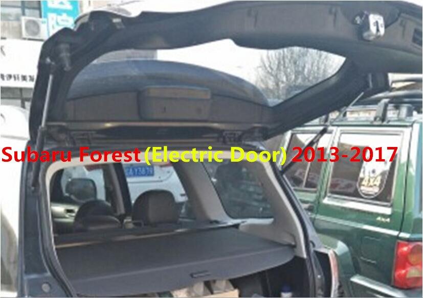 JIOYNG voiture coffre arrière bouclier de sécurité Cargo écran bouclier protection ombre couverture pour Subaru Forester (porte électrique) 2013 2014 2015 2016 2017