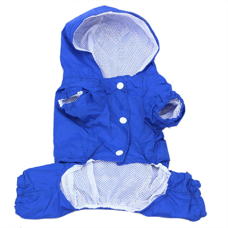 XS-XXL Hot Pet Dog Waterproof Jacket Costumes Dog Puppy Casual Rain Coat Clothes