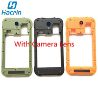 Blackview BV5000 Middle Frame 100 Original LCD Screen Front Frame Assembly Replacement For Blackview BV5000 Smartphone