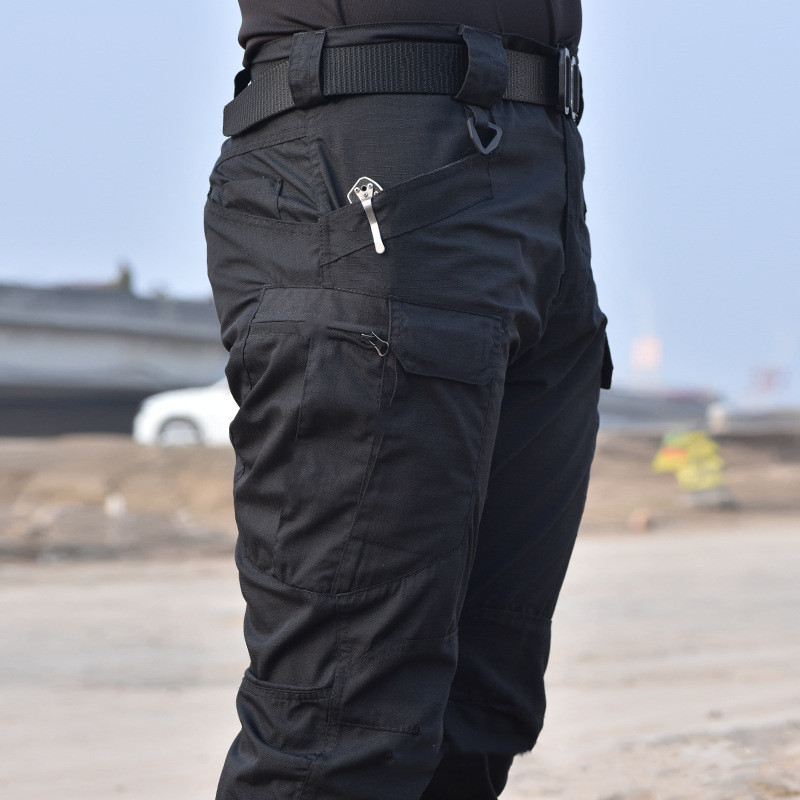 019 Tactical Pants Military Cargo Pants Men Knee Pad SWAT Army Airsoft Solid Color Clothes Hunter Field Combat Trouser Woodland
