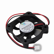 2pin 12v dc brushless cooling fan  5010 50mm 50x50x10 GDT computer case cooling