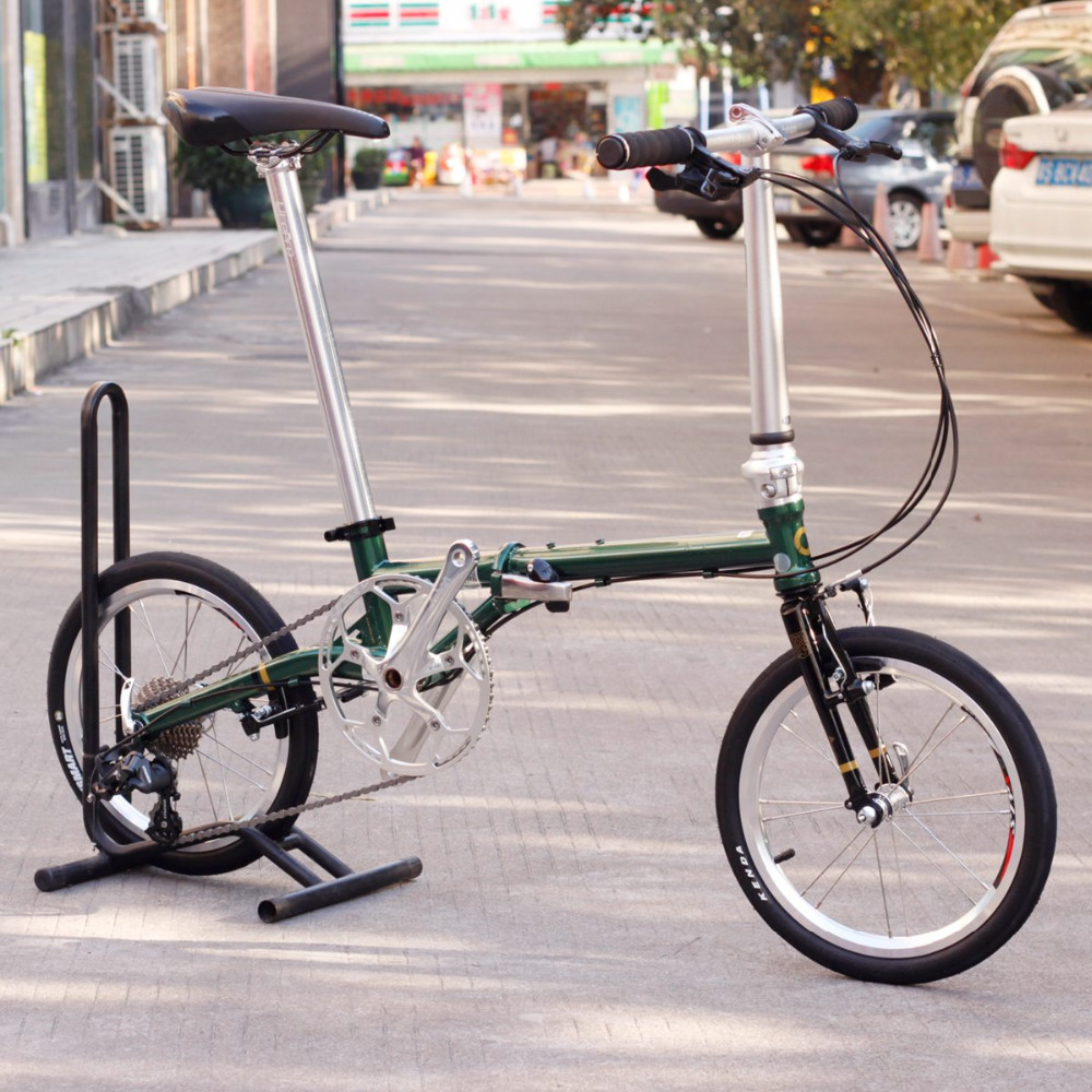 Chrome Steel Folding Bike 16