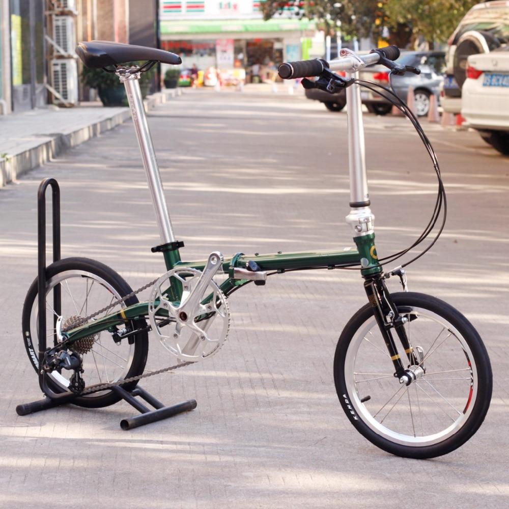 Chrome Steel Folding Bike 16