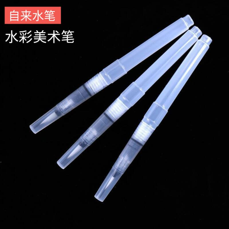 Tap Water Calligraphy Pen Soft Hair Water Storage Brush Solid Watercolor Paint Pencil Painting Drawing Brush 1Pc