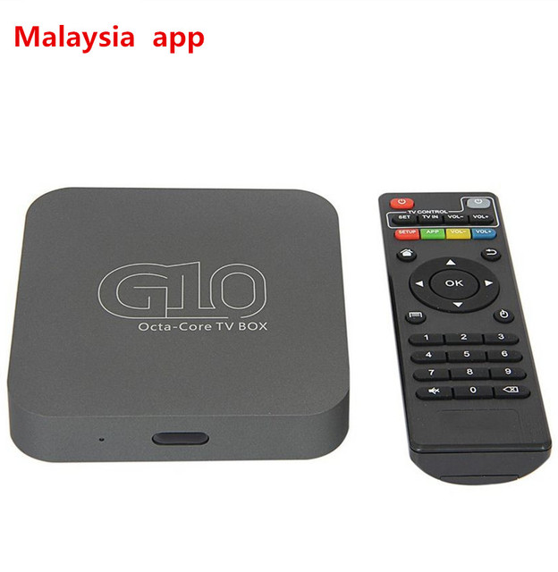 Android 51 Rk3368 64bit 8 Core Tv Box G10 Mit Malaysia Iptv Inclded