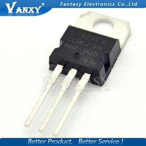 Image 3 - 10PCS L7824CV TO220 L7824 כדי 220 7824 LM7824 MC7824 חדש ומקורי IC