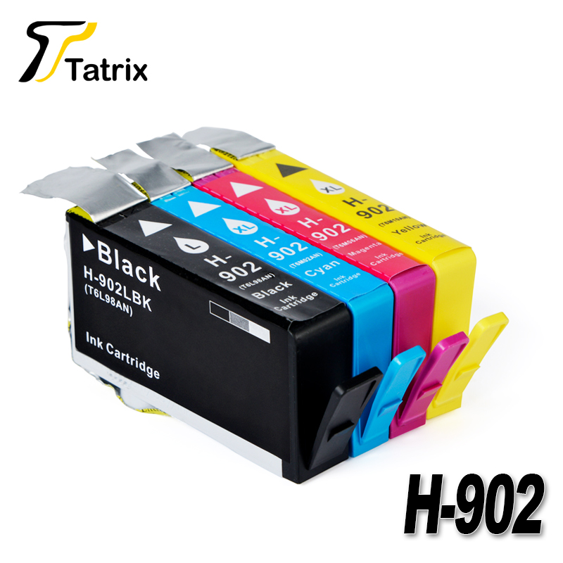 Tatrix 4PK 902XL For HP 902 XL Ink Cartridge For HP Officejet Pro 6960 6961 6963 6964 6965 6966 6968 6970 6971 6974 6975 6978 tatrix for hp 903xl ink cartridge for hp officejet pro 6960 6961 6963 6964 6965 6966 6968 6970 6971 6974 6975 6976 6978 6979