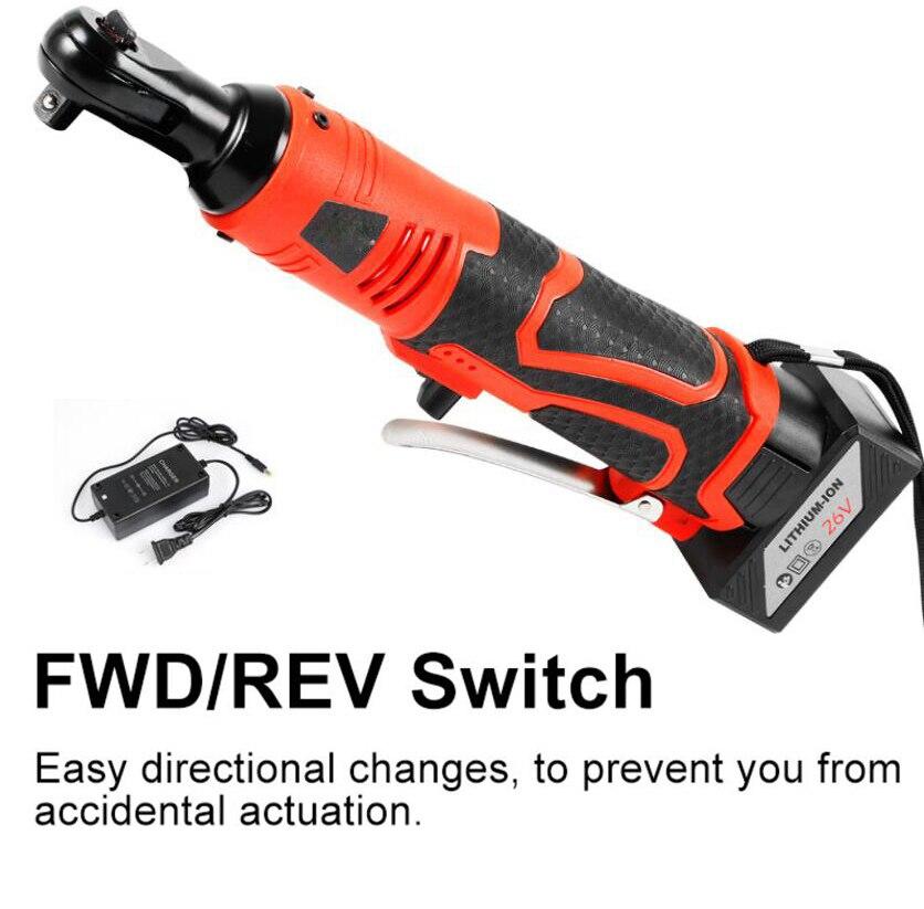 "Lomvum 3//8/"" 12V Li-ion Battery Cordless Electric Ratchet Wrench Socket Tool Kit"