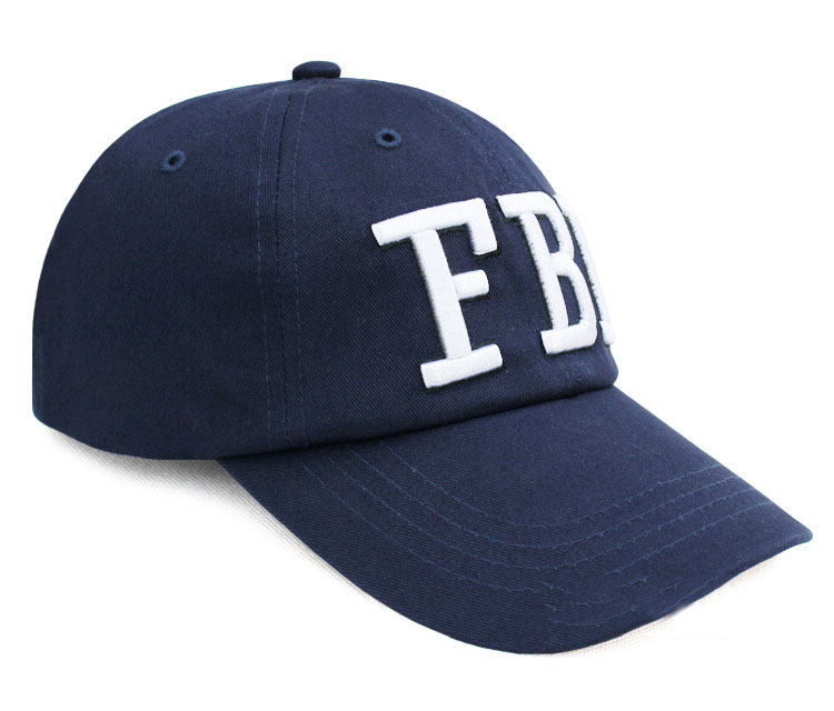 2015 New Hip Hop Letters Embroidered FBI Logo Baseball Cap Hat Quality  Casual Outdoor Sun Hat Cotton Snapback Cap For Men Women-in Baseball Caps  from ... 155875d7b1e