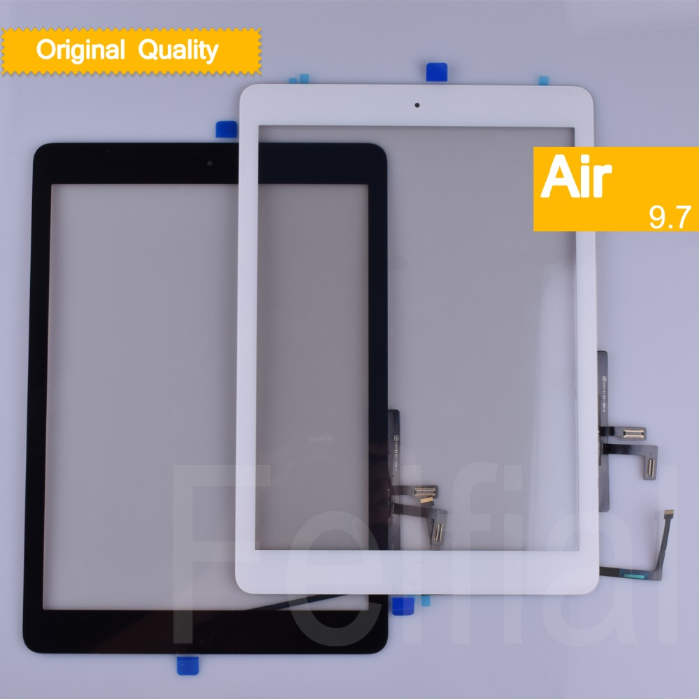 10Pcs/lot Original For Apple iPad Air Touch Screen Digitizer Sensor For ipad 5 Touchscreen Front Glass Panel A1474 A1475 <font><b>A1476</b></font> image