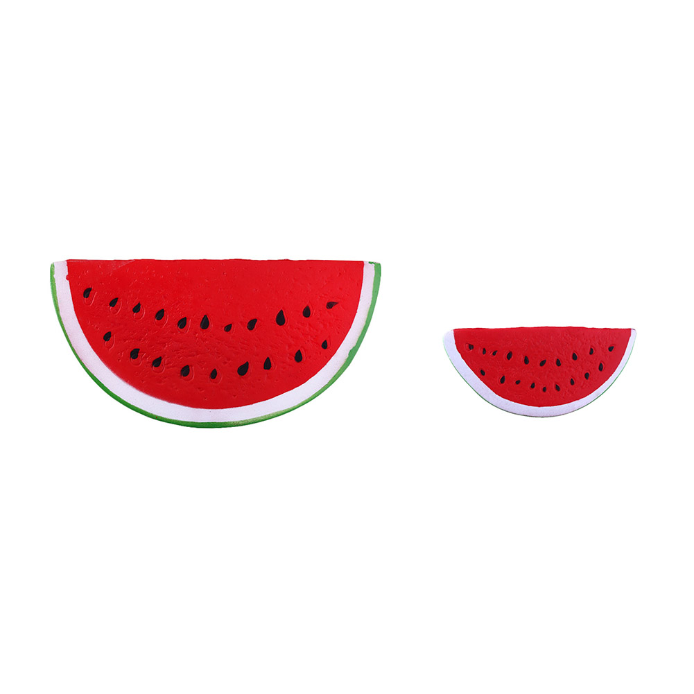 Squishy Slow Rebound PU Simulation Watermelon - Length 15cm Kid Toy Gift Fun Wholesale