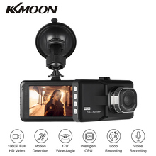 """Kkmoon 3 """"ЖК-дисплей FHD 1080 P Автомобильный видеорегистратор регистраторы Камера видеорегистратор видеокамера ночного видения/обнаружения движения /loo P Запись"""