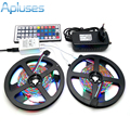 10M LED Strip Light 3528 RGB 600LED Flexible Strip Light Set + 44Keys Remote Controller + 12V 3A Power Supply Adapter