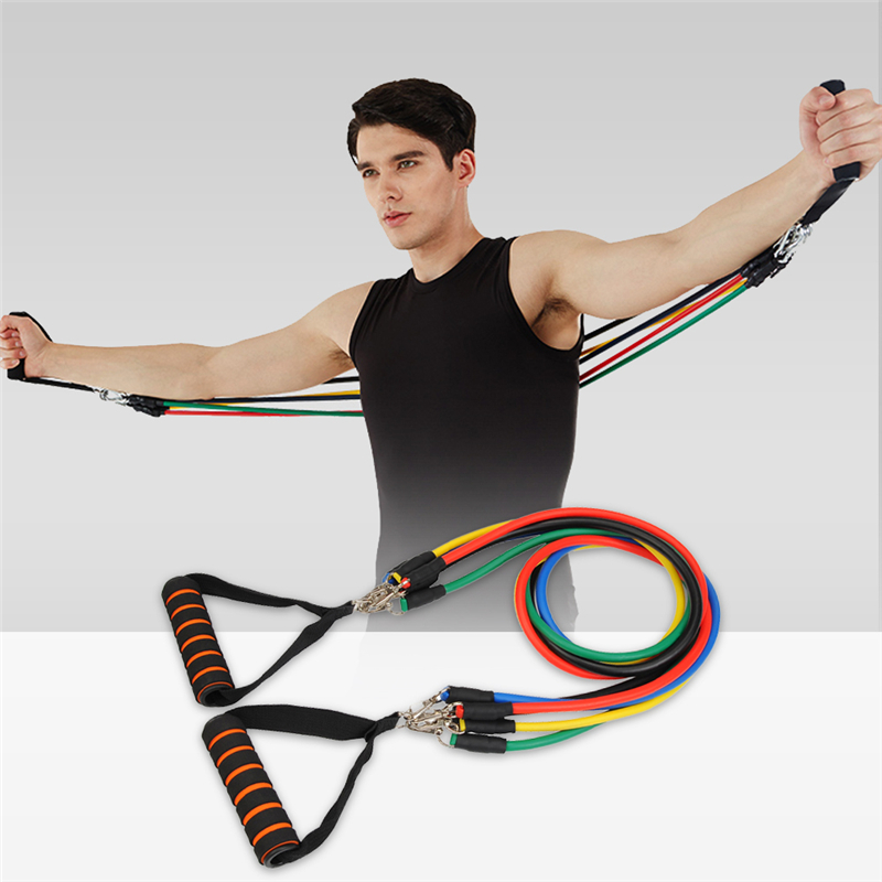 Resistance Bands Treadmill Workout: Fitness Resistance Bands Gourd Hook Exercise Tubes