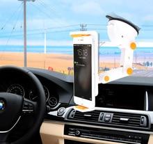 Dashboard Suction Tablet GPS Mobile Phone Car Holders Adjustable Foldable Mounts Stands For Asus Zenfone 3