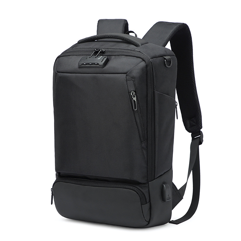Casual Multifunction Waterproof Men Laptop Anti Theft Password lock Backpack USB Charge Business Backpacks College Bags for Male - 2