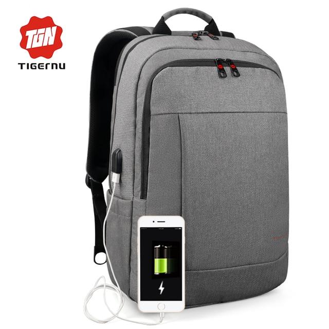 2018 Tigernu Anti Theft Usb Charging Men 15 6inch Laptop Backpack For Women Fashion Travel Mochila