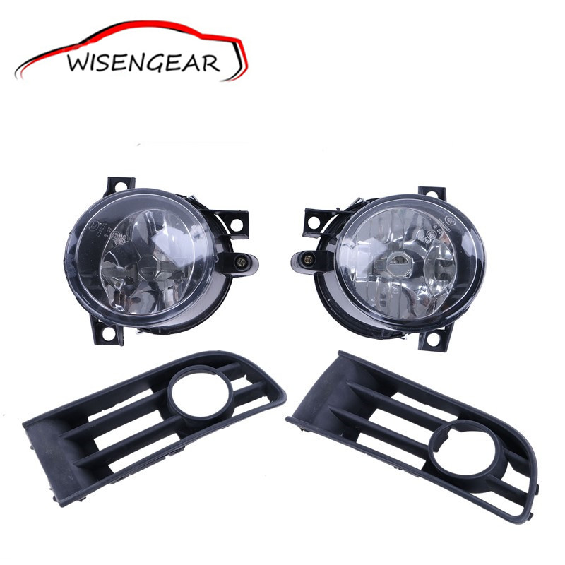 ФОТО 1 Set Left & Right Car Bumper Lamps Fog Front Grille Lights Foglamps For VW Polo 9N1 HB E-MARK 2001 - 2005 C/5