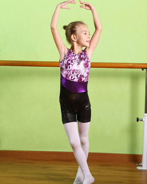 b00e7a8bc50a Toddler Girls Ballet Dress Sleeveless Athletic Dance Leotards Dress ...
