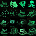2016 Nova Luminous Bonés Snapback Chapéus Boné de Beisebol Das Mulheres Dos Homens Casuais Personalidade Fluorescência Chapéu Hip Hop Ajustável Audi Chapéus
