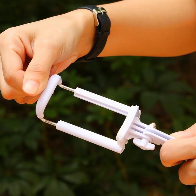 Mobile Phone Mini Handheld Selfie Stick Extendable Portable Monopod Tripod