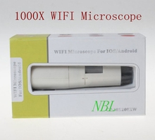 1000X Wireless Digital Microscope Magnifying Lens 25x-1000x wifi Magnifier WIFI Microscope For IOS/Android With Retail Box