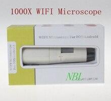 Bezprzewodowy Cyfrowy Mikroskop 1000X Mikroskop Lupa Powiększające Soczewki 25x-1000x wifi WIFI Dla IOS/Android Z Retail Box