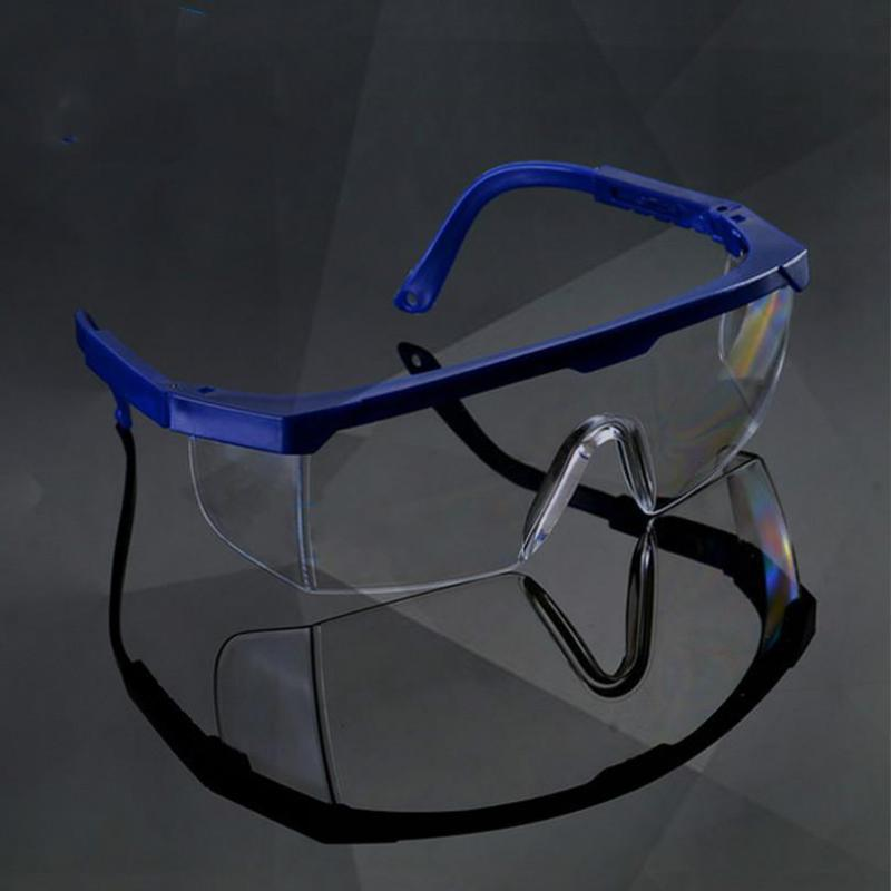 цена на New Workplace Safety Supplies Safety Goggles Eyes Protection Clear Protective Glasses Wind and Dust Anti-fog Medical Use