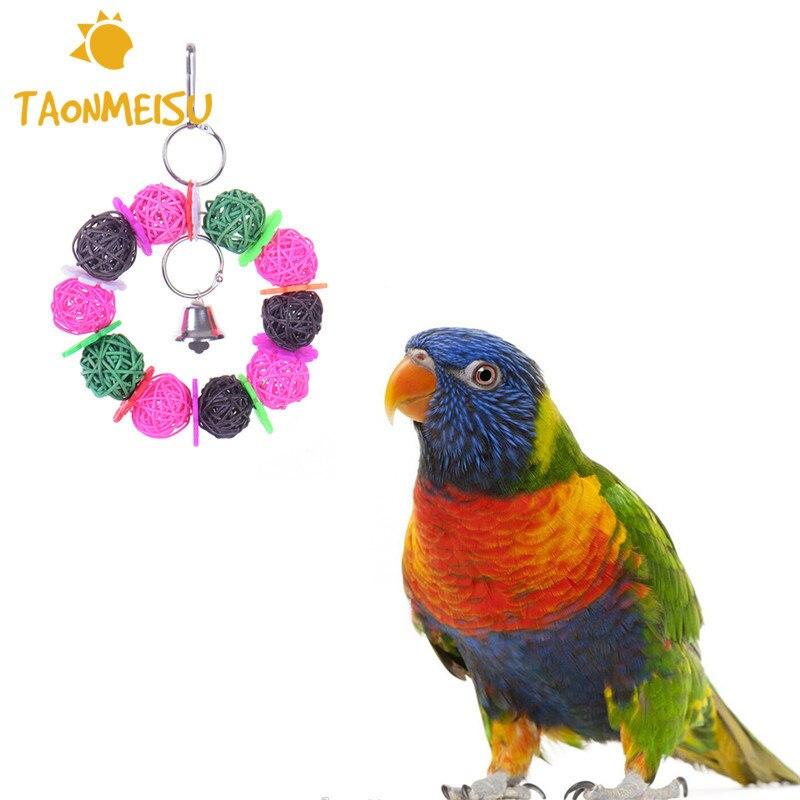 Krāsaini mājdzīvnieki Putni Košļājamās rotaļlietas Dabas - Mājdzīvnieku produkti