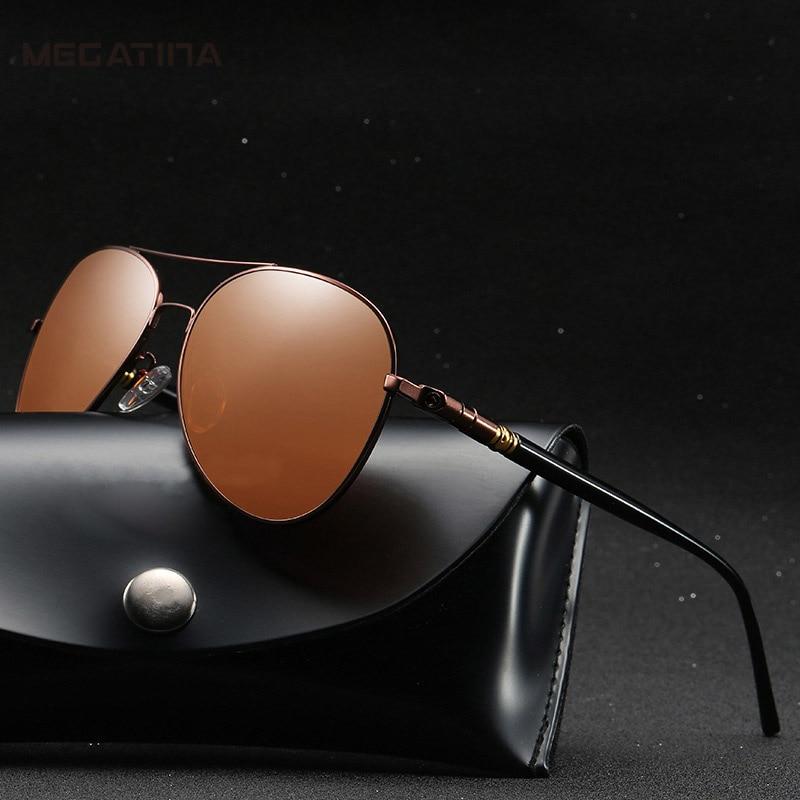 Megatina Aviator Sunglasses Retro Classic Designer Vintage Metal - Հագուստի պարագաներ