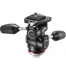 Manfrotto MH804 3W Video Camera Fluid Tripod Head With Quick Release Plate Hydraulic Head For Panoramic