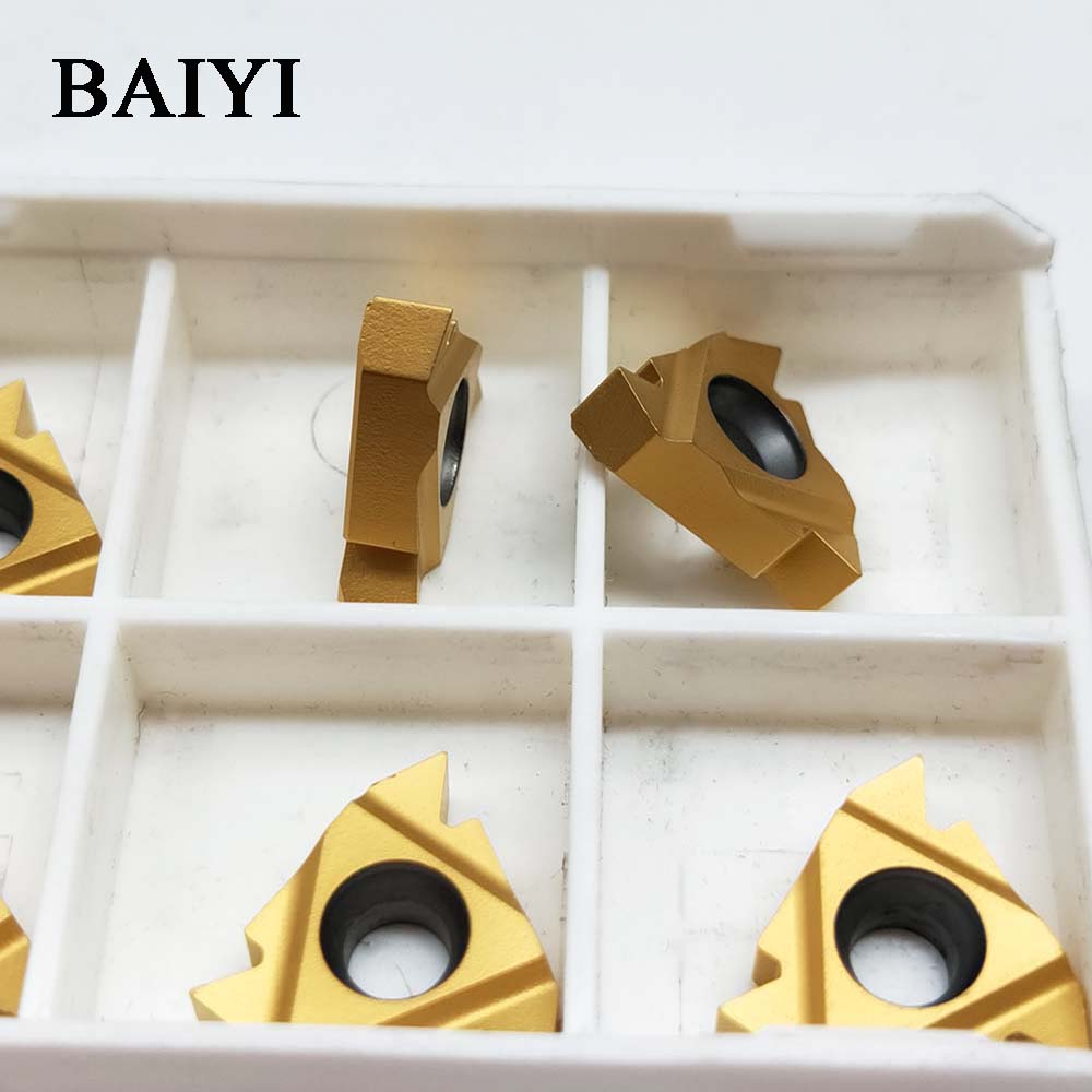 10pcs 16ER AG60 16IR AG60 11ER A60 11IR A60 LDC carbide inserts Thread Turning tool cutting tool Lathe Tools cutter CNC tool in Turning Tool from Tools