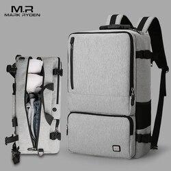 Mark Ryden nueva alta capacidad Anti-thief diseño mochila de viaje apto para 17 pulgadas Bolsa de ordenador portátil de gran capacidad bolsa de viaje de negocios