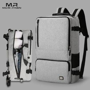 ce248070e0079 Mark Ryden nueva alta capacidad Anti-thief diseño mochila de viaje apto  para 17 pulgadas Bolsa de ordenador portátil de gran capacidad bolsa de  viaje de ...