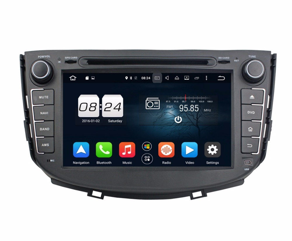 2GB RAM Octa Core 2 din 8″ Android 6.0 Car Audio DVD Player for Lifan X60 With Radio GPS 4G WIFI Bluetooth TV USB DVR