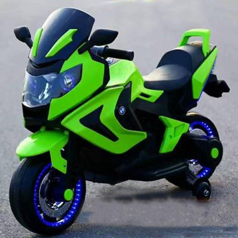Precio especial de los niños eléctrica dual de la motocicleta del coche Triciclo de niños coche de juguete puede sentarse gente 3-6- 8 años de edad