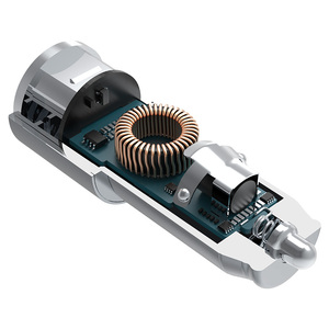 Chuwi ublue автомобильное зарядное устройство 17 W/3.4A dual usb автомобильное зарядное устройство для iphone 7/7 плюс/6s/6 кроме того, ipad air/mini/pro с смарт заряда