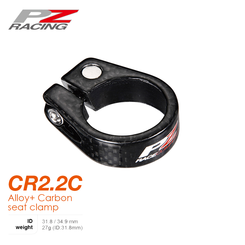 EC90 Carbon Fiber Matte MTB Cycling Bike Clamp For 31.8mm//34.9mm Bicycle Clamp