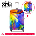 Colourful Print Luggage Protective Cover For 18-30 inch Suitcases Elastic Stretch Waterproof Luggage Covers Travel Accessories