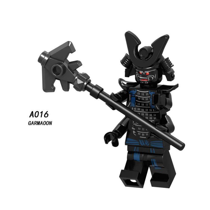 Única Venda Super Heroes Star Wars 016 Garmadon Mini Modelo Blocos de Construção Figura Bricks Brinquedos presente do miúdo Compatível Legoed Ninjaed