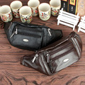 Men Genuine Leather Fanny Waist Belt Bag Travel Hip Bum Purse Bags Brand Famous Vintage Trend Single Sling Chest Back Day Pack