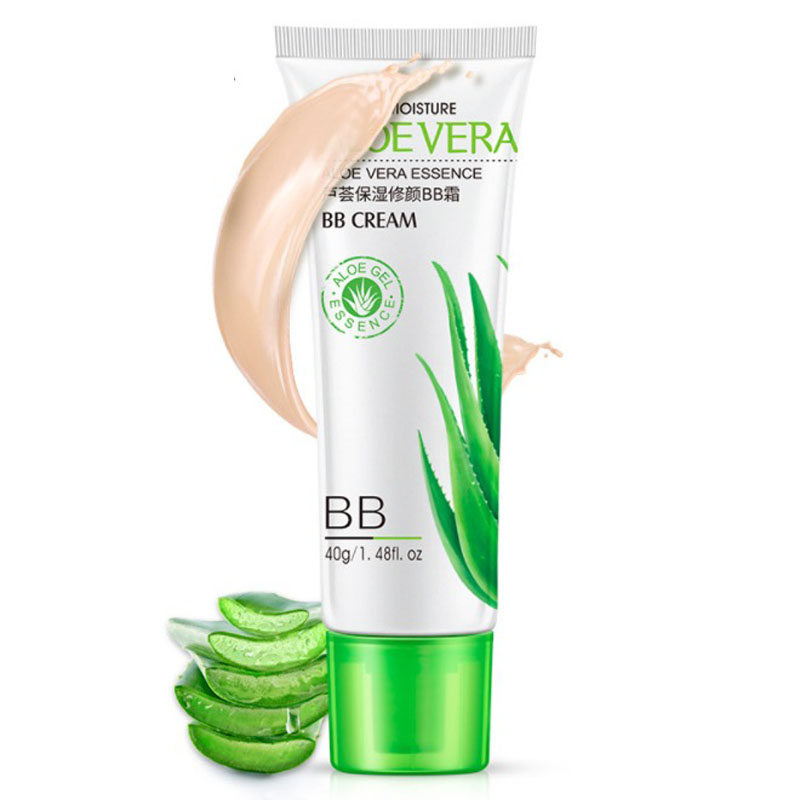New Aloe Oil-control Waterproof Air Cushion BB Cream Concealer Moisturizing Foundation Makeup Bare Strong Whitening Face Beauty