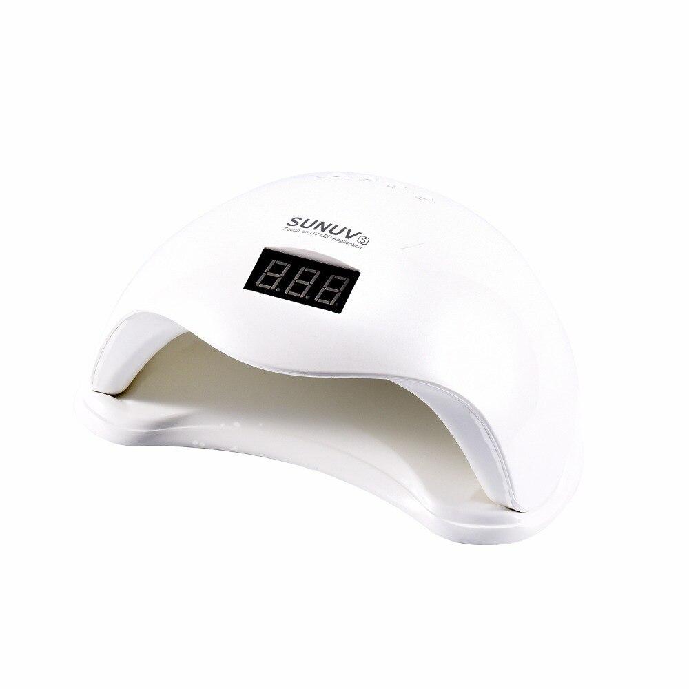 UV LED SUN5 48 w Professionnel 365 + 405 nm UV LED Lampe Nail Sèche-Polonais Machine Fit Durcissement Tous Les vernis À ongles Nail Gel Art Outil # S503