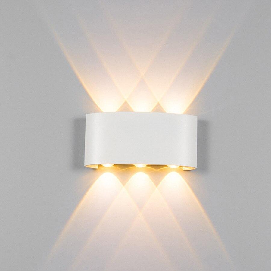Outdoor Indoor Wand Licht Led Wasserdichte Wand Lampe Aluminium Außen Beleuchtung Nicht-standard Projekt Hotel Wand Lampe 2 W 4 W 6 W Schmerzen Haben