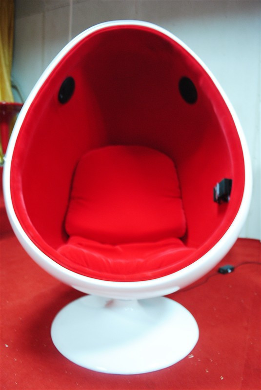 Sound Oval Fiberglass Chairs Tip Ball Chair Ball Chair Egg Chair Egg Shell Chair Soundproof
