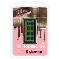 Kingston For TOSHIBA Brand Notebook Computers Dedicated Memory 100 Compatible 4GB 8GB DDR3 1600MHz 1 35