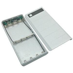Image 5 - DIY 8x18650 зарядное устройство, внешний аккумулятор, пластиковый корпус, чехол, Type C, Micro, двойной USB порт, дисплей, внешний аккумулятор, коробка без аккумулятора