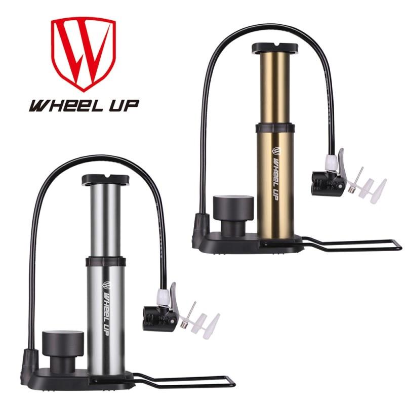 휠 새로운 도착 휴대용 펌프 초경량 자전거 펌프 호스 압력 게이지 120 Psi 고압 자전거 펌프